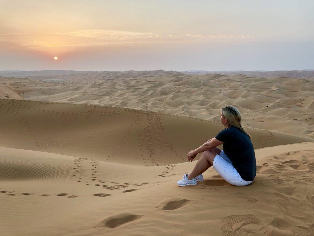 Wüste Sunrise