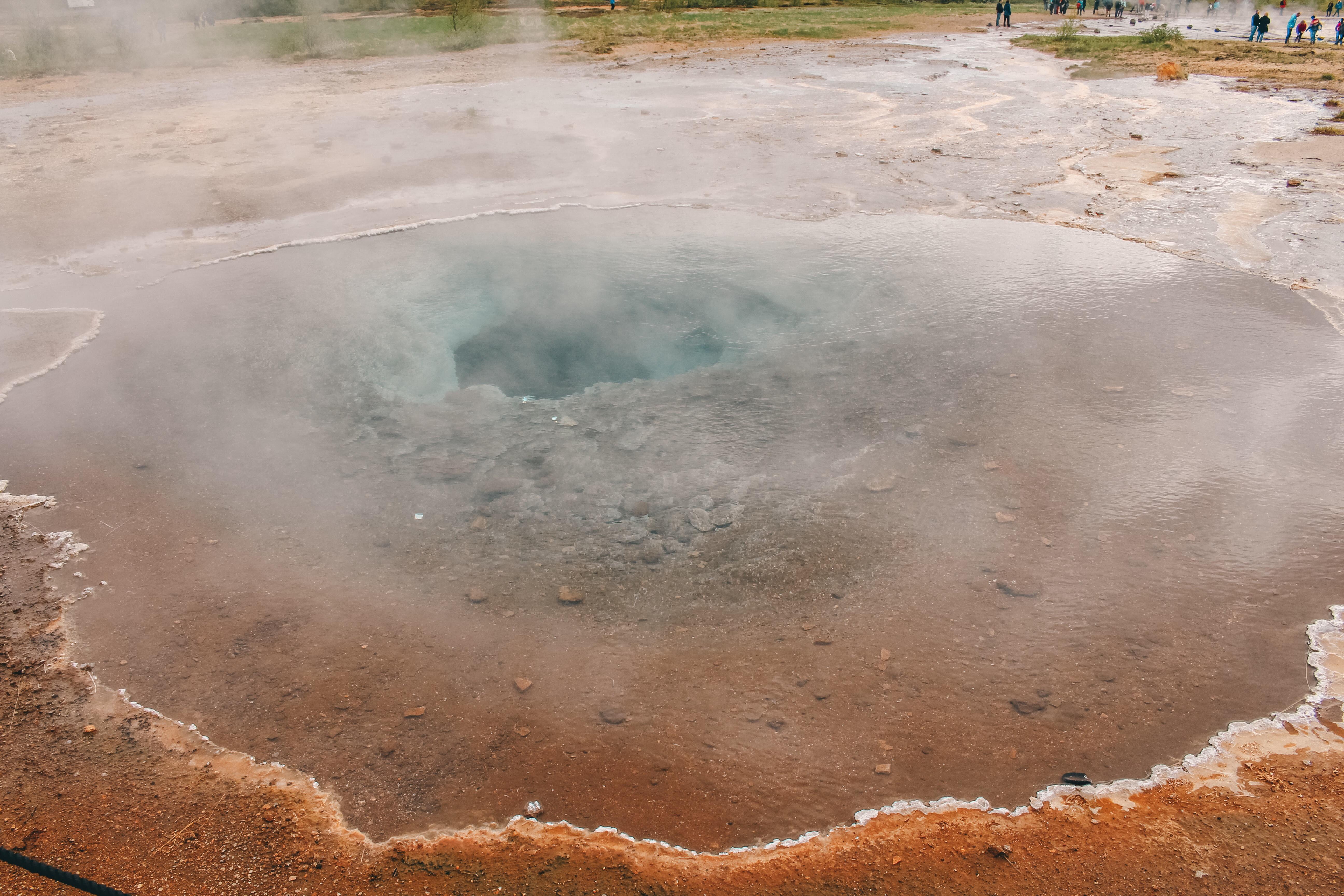 Wasserfrall Geysir