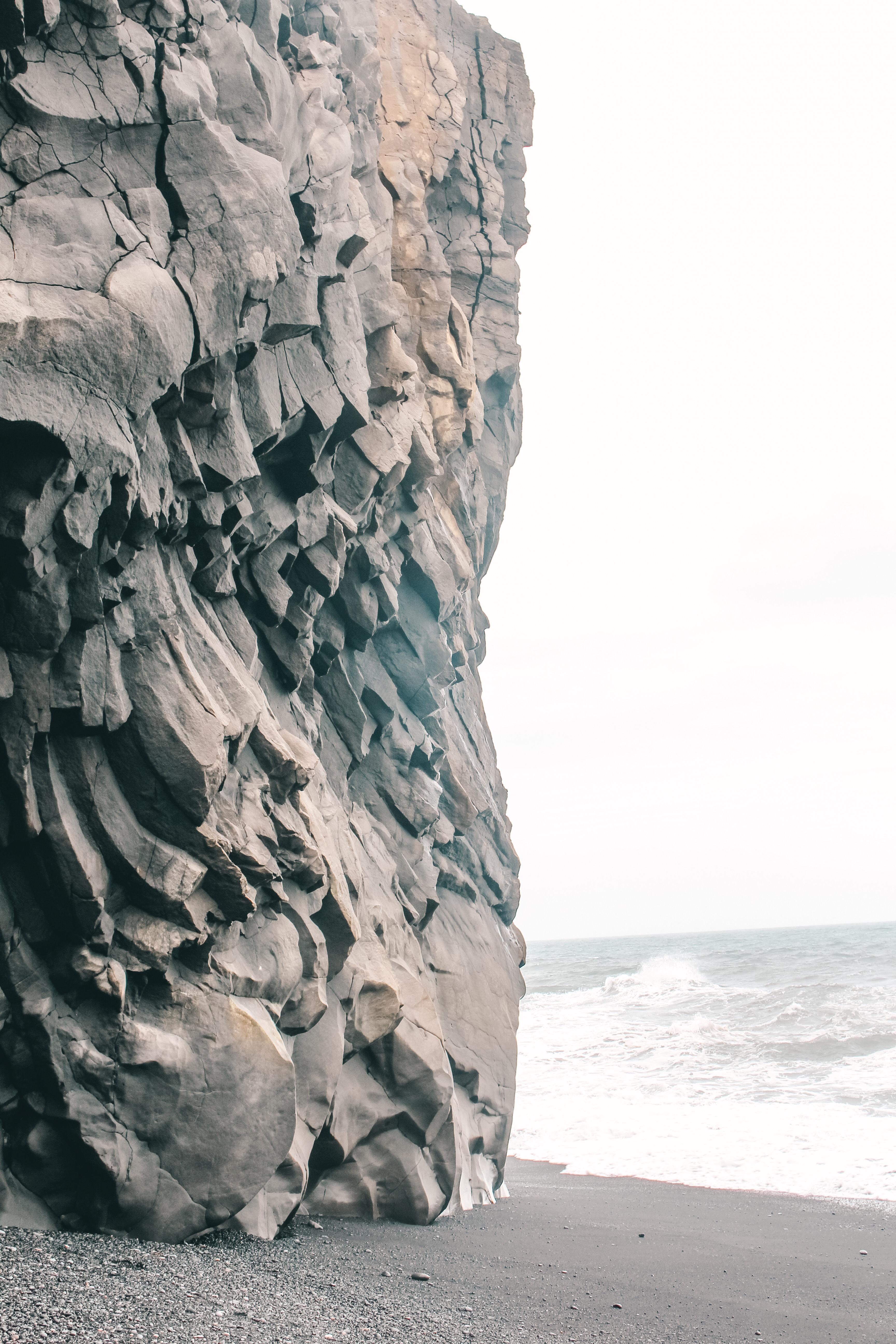 Kikjufjara Strand Island Dyrholaey
