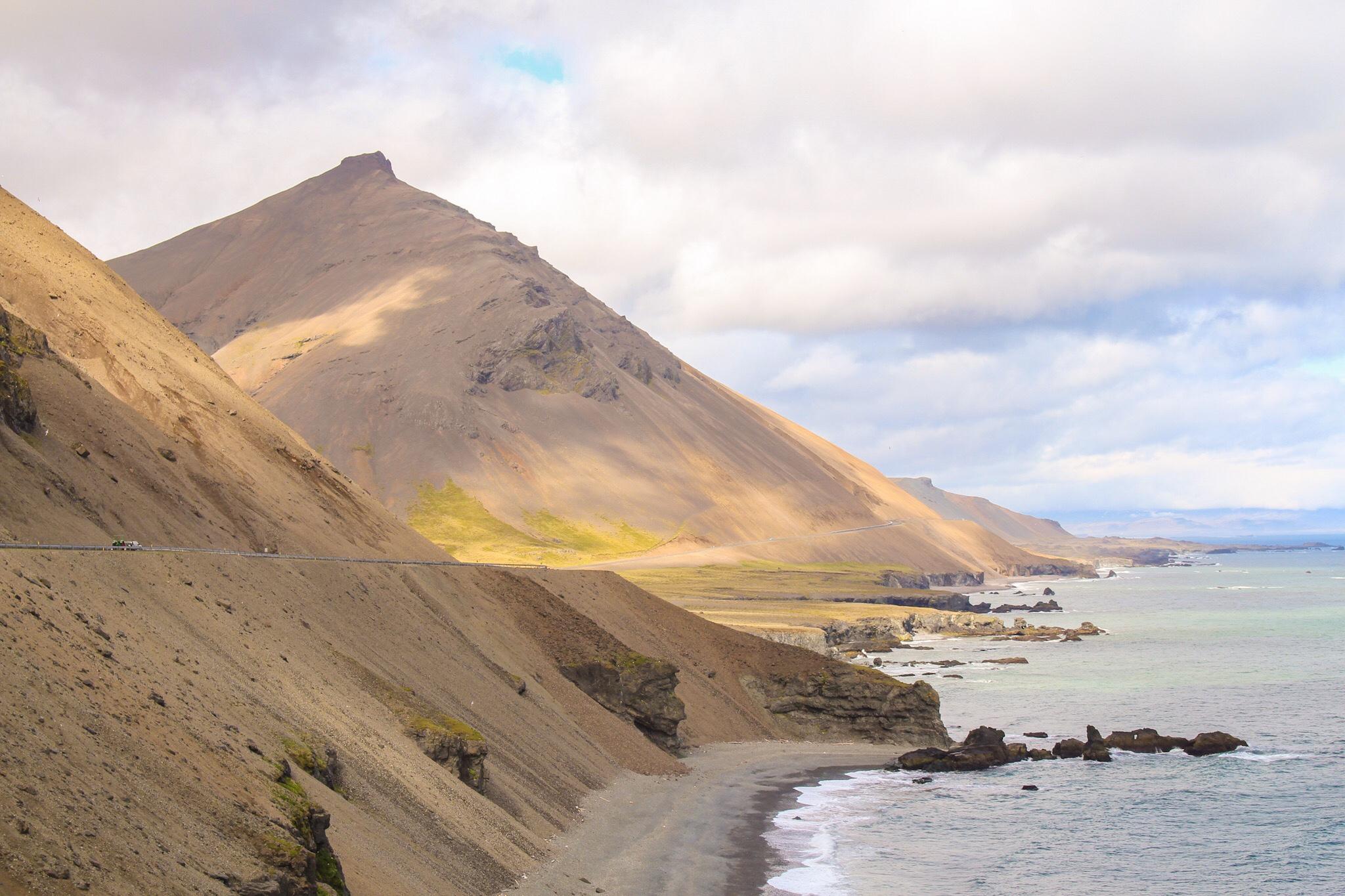 Island Iceland Küste