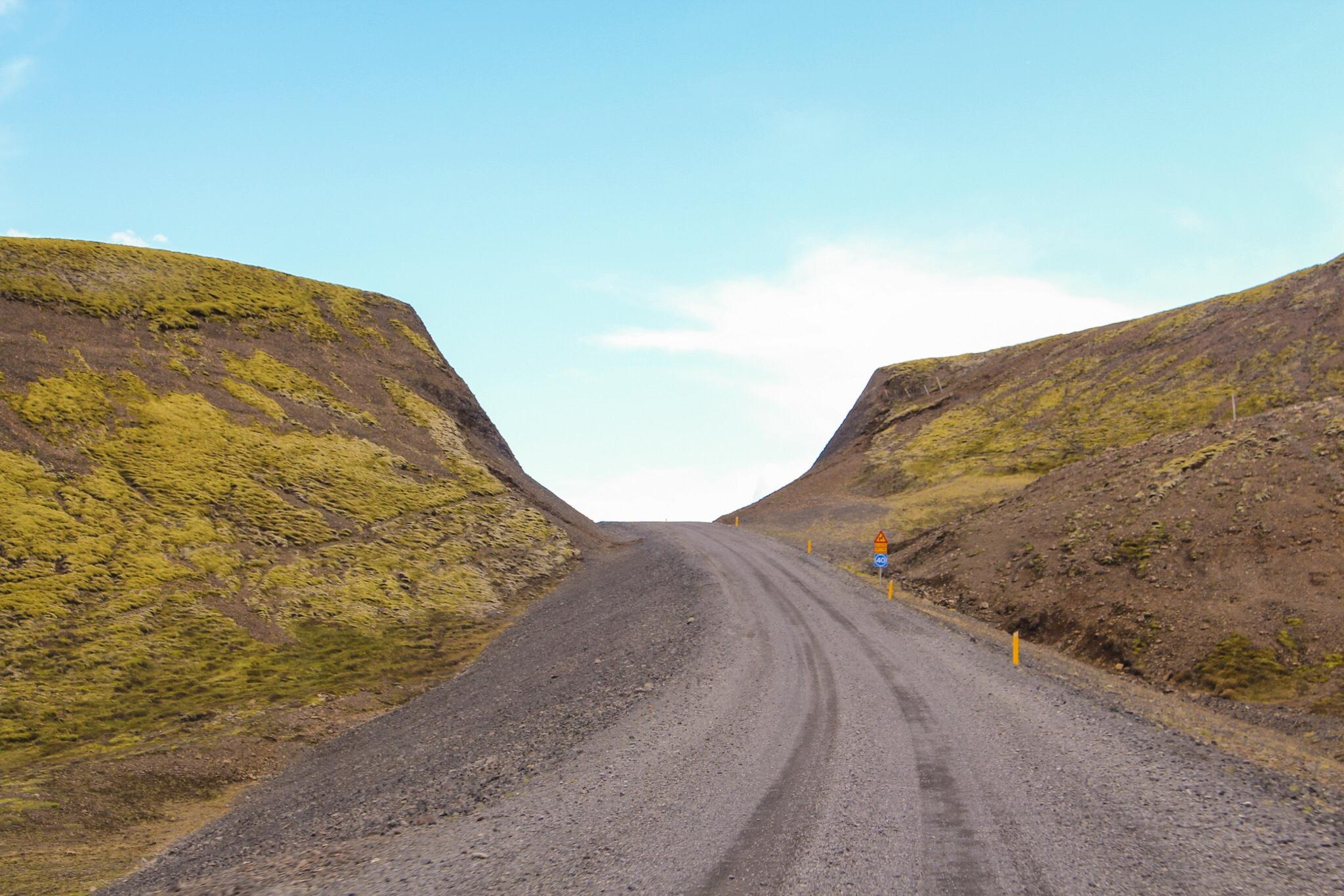 Island Iceland Roadtrip