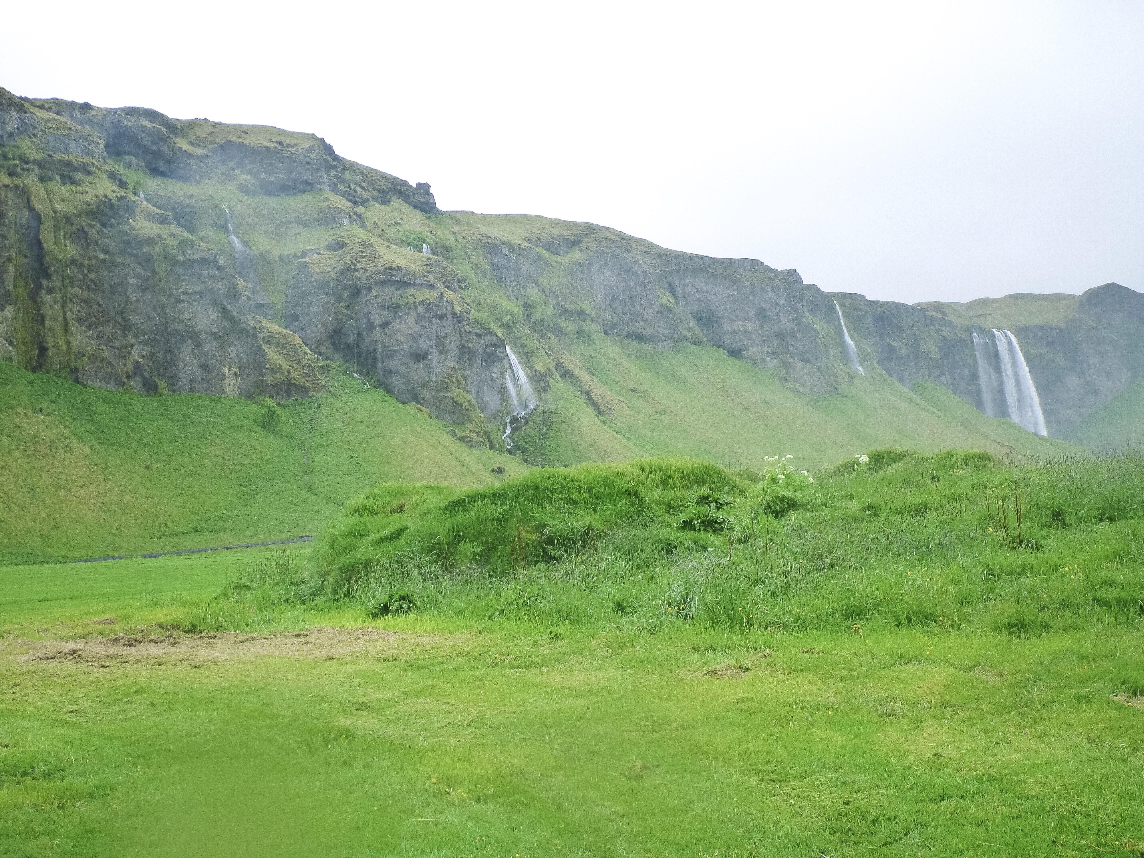 Seljalandsfoss Gljufurarfoss Island