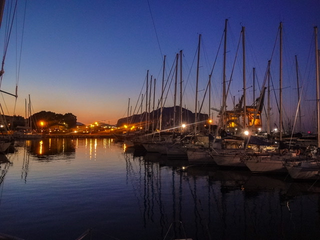 Palermo Hafen