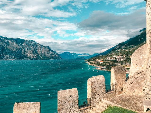 Malcesine Burg Gardasee