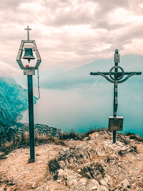 Gipfel bestone Gardasee